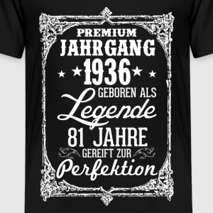 81-1936-legend - perfection - 2017 - DE Shirts - Teenage Premium T-Shirt