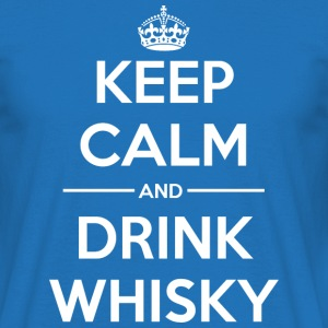 Drinks Keep calm Whisky T-Shirts - Men's T-Shirt