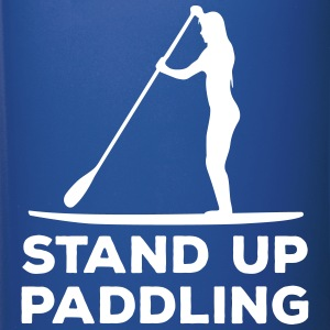 Standing paddler SUP Paddle Sports water sports summer Mugs & Drinkware - Full Colour Mug