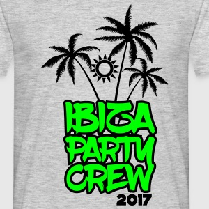 Ibiza Party Crew 2017 T-Shirts - Männer T-Shirt