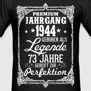 73 - 1944 - Legende - Perfektion - 2017 - DE T-Shirts - Männer Slim Fit T-Shirt