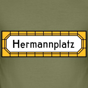 Hermannplatz NEUKÖLLN T-Shirts - Männer Slim Fit T-Shirt