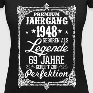 69-1948-legend - perfection - 2017 - DE T-Shirts - Women's V-Neck T-Shirt