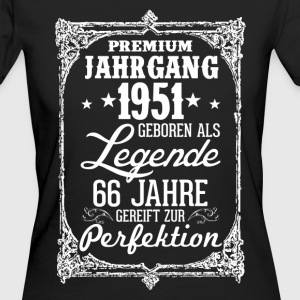 66 - 1951 - Legende - Perfektion - 2017 - DE T-Shirts - Frauen Bio-T-Shirt