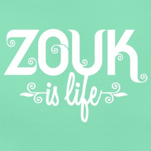 Zouk is life T-shirts - Vrouwen T-shirt