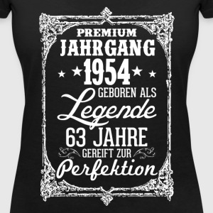 63-1954-legend - perfection - 2017 - DE T-Shirts - Women's V-Neck T-Shirt