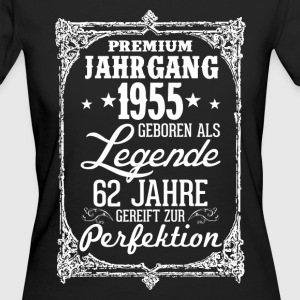 62-1955-legend - perfektion - 2017 - DE T-shirts - Ekologisk T-shirt dam