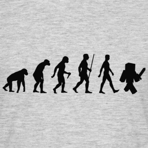Evolution geek Tee shirts - T-shirt Homme