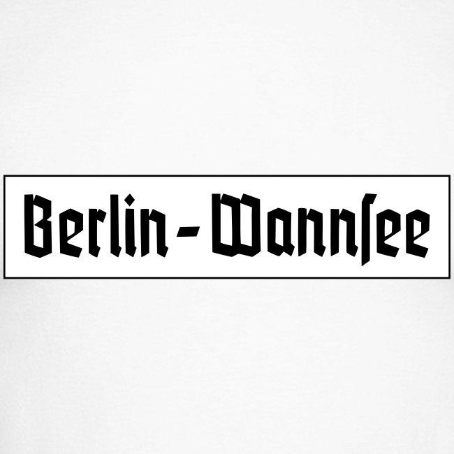 Berlin Wannsee Fraktur