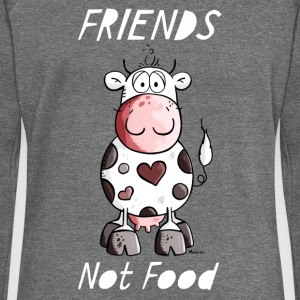 Friends Not Food - Vegan - Vegetarier Pullover & Hoodies - Frauen Pullover mit U-Boot-Ausschnitt von Bella