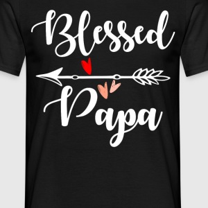 Blesed Papa T-Shirts - Men's T-Shirt