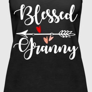 Blessed Granny Tops - Women's Premium Tank Top