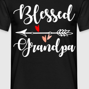 Blessed Grandpa T-Shirts - Men's T-Shirt