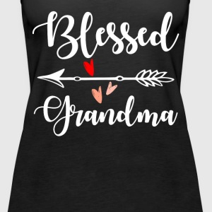 Blessed Grandma Tops - Women's Premium Tank Top