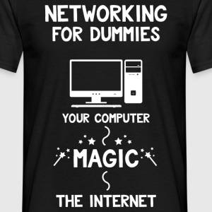Networking for Dummies T-Shirts - Men's T-Shirt