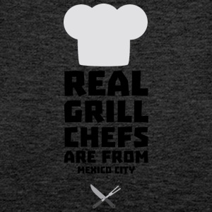Real Grill Chefs are from Mexico City 6ry Tops - Women's Premium Tank Top