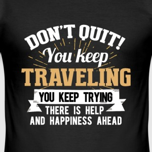 Holiday travel T-Shirts - Men's Slim Fit T-Shirt