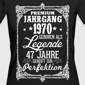 47 - 1970 - Legende - Perfektion - 2017 - DE T-Shirts - Frauen Bio-T-Shirt