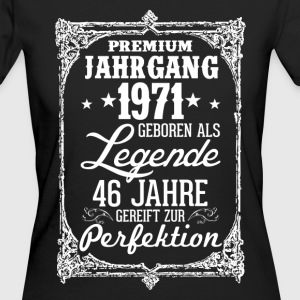 46-1971-legend - perfektion - 2017 - DE T-shirts - Ekologisk T-shirt dam