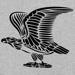 Tattoo eagle with wings. - Kids' Premium Longsleeve Shirt