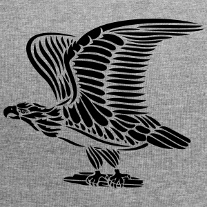 Tattoo eagle with wings. - Jersey Beanie