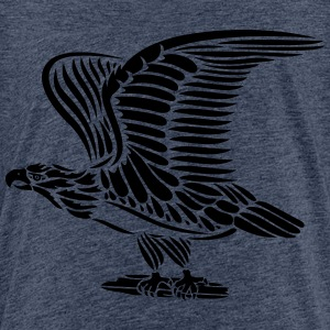 Tattoo eagle with wings. - Kids' Premium T-Shirt