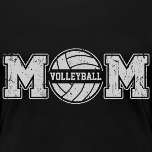 Volleyball Mom T-Shirts - Frauen Premium T-Shirt