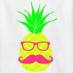 Ananas Nerd 3c T-Shirts - Teenager T-Shirt
