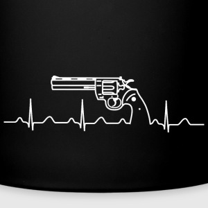 Colt Python Anaconda Heartbeat wh Mugs & Drinkware - Full Colour Mug