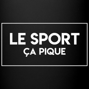 Attention, LE SPORT CA PIQUE !  - Tasse en couleur