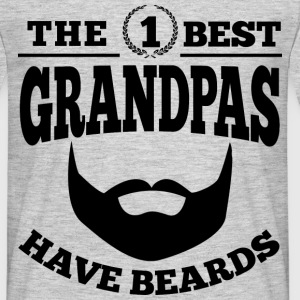 Best Grandpas Have Beards T-Shirts - Männer T-Shirt