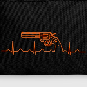 Colt Python Anaconda Revolver Heartbeat or Bags & Backpacks - Backpack