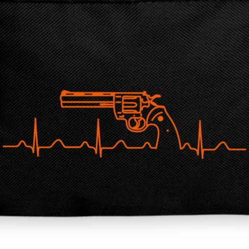 Colt Revolver Heartbeat orange