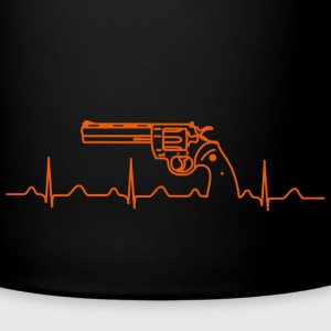 Colt Python Anaconda Revolver Heartbeat or Mugs & Drinkware - Full Colour Mug