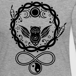 Symbols of Hecate, moon goddess - Women's Premium Longsleeve Shirt