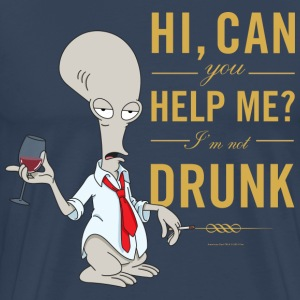 American Dad Roger Drunk - Men's Premium T-Shirt