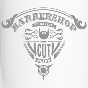 vintage logo barbershop Mugs & Drinkware - Travel Mug
