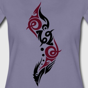 Beautiful Tribal Bird (two colors). - Women's Premium T-Shirt