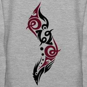 Beautiful Tribal Bird (two colors). - Women's Premium Hoodie