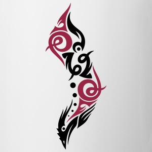 Beautiful Tribal Bird (two colors). - Mug