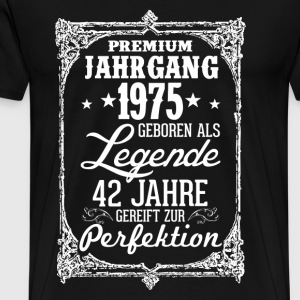 42-1975-legend - perfection - 2017 - DE T-Shirts - Men's Premium T-Shirt