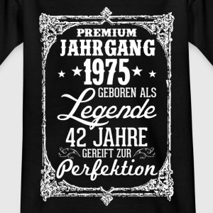 42-1975-légende - perfection - 2017 - DE Tee shirts - T-shirt Ado