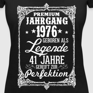 41 1976-legende - perfection - 2017 - DE T-shirts - Vrouwen T-shirt met V-hals