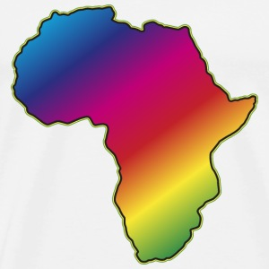 Afrika Big Five Africa Regenbogen Roots of Reggae T-Shirts - Männer Premium T-Shirt
