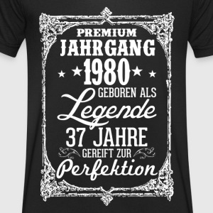 37 1980-legend - perfection - 2017 - DE T-Shirts - Men's V-Neck T-Shirt