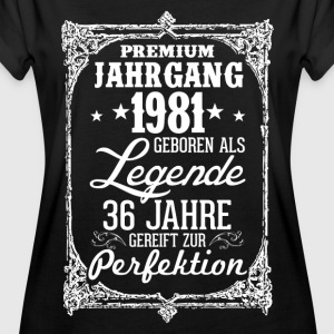 légende 36-1981 - perfection - 2017 - DE Tee shirts - T-shirt oversize Femme