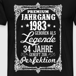 34-1983 légende - perfection - 2017 - DE Tee shirts - T-shirt Premium Homme