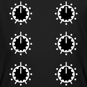 Potentiometrar DJ Mixer potentiometer ligger Club T-shirts - Ekologisk T-shirt herr
