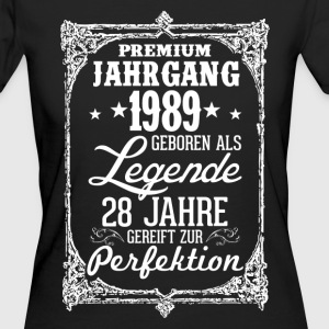 28-1989-légende - perfection - 2017 - DE Tee shirts - T-shirt Bio Femme