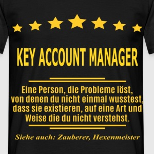 KEY ACCOUNT MANAGER T-Shirts - Männer T-Shirt